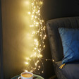Lisa Angel Plug In Warm White LED Cascading String Lights