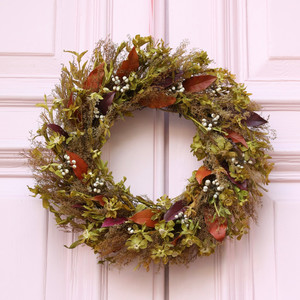 Natural Wildflower Wreath