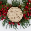 Lisa Angel Festive Personalised Winter Red Berry Christmas Wreath