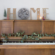 Lisa Angel Christmas Silver Glitter Pinecone Wreath