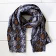 Lisa Angel Ladies' Soft Snakeskin Blanket Scarf