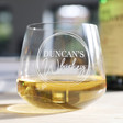 Lisa Angel Personalised Name Whisky Glass
