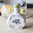 Lisa Angel Small Ceramic 10cl Bottle of Norfolk Gin