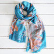 Lisa Angel Ladies' Powder Design Autumn Owl Scarf