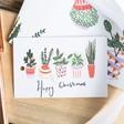 Emily Chapman Christmas Cactus Print Gift Tag