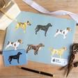 Lisa Angel Cute Sophie Botsford Dog Print Recycled Gift Wrap Set