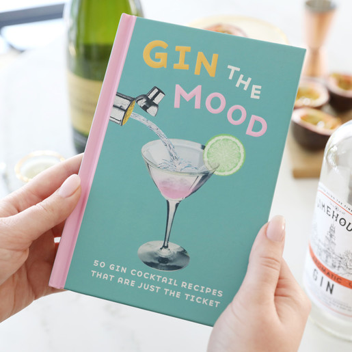 Gin The Mood Cocktail Recipe Book Lisa Angel