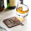 Lisa Angel Men's Personalised 'Favourite Scotch' LSA Islay Whisky Tumbler & Coaster