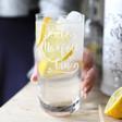 Lisa Angel Personalised Norfolk Gin Tumbler