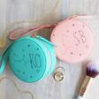 Lisa Angel Ladies' Personalised Constellation Mini Round Travel Jewellery Case
