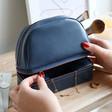 Lisa Angel Ladies' Jewellery Case and Make Up Bag in Navy