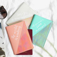 Lisa Angel Ladies' Colourful Iridescent Quote Passport Holders