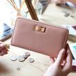 Lisa Angel Ladies' Light Pink Wallet