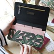 Teens Botanical 'Out of Office' Travel Document Wallet