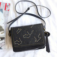 Lisa Angel Ladies' Constellation Crossbody Bag in Black