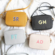 Lisa Angel Ladies' Personalised Initials Rectangular Crossbody Bags
