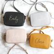 Lisa Angel Ladies' Personalised Rectangular Crossbody Bag