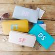 Lisa Angel Ladies' Personalised Block Initials Large Zip Around Wallet