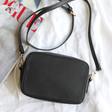 Ladies' Rectangular Crossbody Bag in Black