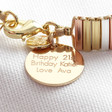 Lisa Angel Personalised Mixed Metal Thin Bars Bracelet