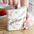 Lisa Angel Ladies' Personalised 'Let's Flamin-Go' Hip Flask