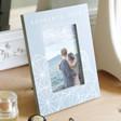 Lisa Angel Personalised Grey Geometric Photo Frame