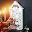 Lisa Angel Children's Personalised LED Snowflake Advent House