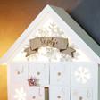 Lisa Angel Personalised LED Snowflake Advent House