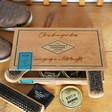 Personalised Engraved 'Buff & Shine' Cigar Box Shoe Kit