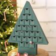 Lisa Angel Reusable Fill Your Own Cardboard Christmas Tree Advent Calendar