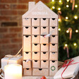 Kids Personalised Fill Your Own Cardboard House Advent Calendar