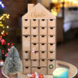 Lisa Angel Personalised Fill Your Own Cardboard House Advent Calendar