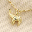 Lisa Angel Delicate Elephant Bracelet in Gold