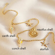 Lisa Angel Ladies' Gold Sea Charms Necklace