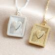 Lisa Angel Ladies' Personalised Vintage Style Book Locket Necklace