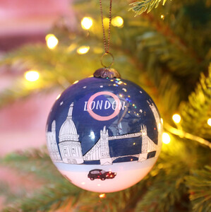 Hand-Painted London Bauble