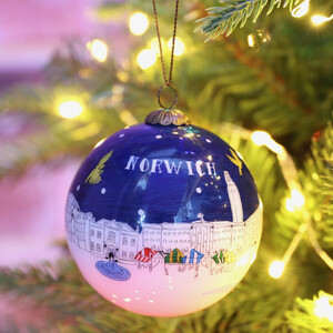 Hand-Painted Norwich Bauble