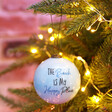 Lisa Angel Hand Painted 'The Beach is My Happy Place' Bauble