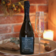 Lisa Angel Special Personalised Christmas Prosecco Bottle
