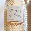 Bottle of Personalised Couple of Names Freixenet Wine