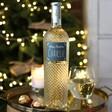 Lisa Angel Personalised Festive 'Merry Christmas' Bottle of Freixinet Wine