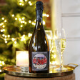Lisa Angel Special Personalised Photo 'Merry Christmas' Prosecco