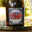 Lisa Angel Personalised Photo 'Merry Christmas' Prosecco