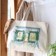 Ladies' Owen Mathers Illustrated Lisa Angel Shop Tote Bag