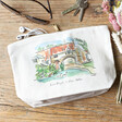 Lisa Angel Owen Mathers Illustrated Norwich River Wash Bag