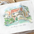 Lisa Angel Colourful Owen Mathers Illustrated Norwich River Wash Bag
