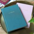 Lisa Angel Ladies' Personalised Fabric Travel Journal