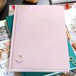Lisa Angel Ladies' Personalised Fabric Wedding Planner Notebook