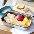 Lisa Angel with Black+Blum Stainless Steel and Bamboo Lunch Box