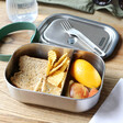 Lisa Angel with Black+Blum Stainless Steel Lunch Box and Fork